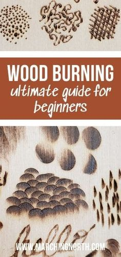 Wood Burning Ultimate Guide for Beginners Wanting to get started with wood burning (aka pyrography on wood) but not sure where to begin? This ultimate beginners wood burning guide will tell you everything you need to know about wood burning for beginners. Wood Burning Tips, Wood Burning Techniques, Wood Burning Crafts, Wood Burning Patterns, Wood Crafts, Diy Crafts, Wood Burning Projects, Wood Projects, Woodworking Projects