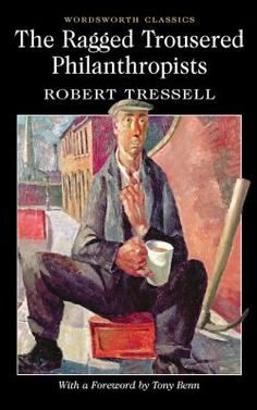 Day 10: The Ragged Trousered Philanthropists by Robert Tressell. A classic representation of the impoverished and politically powerless underclass of British society in Edwardian England, ruthlessly exploited by the institutionalized corruption of their employers and the civic and religious authorities. #StHelens #lovelibraries #lovereading #lovebooks #StHLibsAdventCalendar