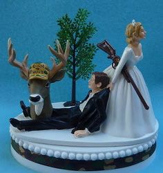 deer hunting themed wedding cake toppers - Google Search