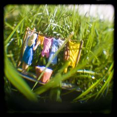 "Fresh Laundry by cybertoad, via Flickr    ""Honey I shrunk the laundry!"""