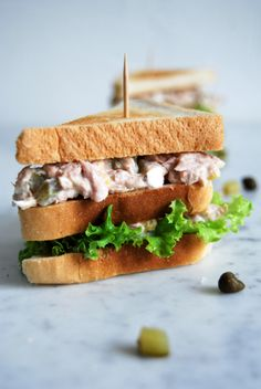 eat in my kitchen ° Tuna Club Sandwich