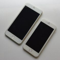Photos of 4.7-Inch and 5.5-Inch iPhone 6 Model - http://www.aivanet.com/2014/06/photos-of-4-7-inch-and-5-5-inch-iphone-6-model/