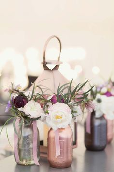 A Romantic, Handcrafted Calligraphy & Pretty Glass Bottles Real Wedding: Suzie & Scott