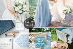Serenity Blue wedding theme { 1 in Top 10 Pantone Spring 2016 } Navy Blue Wedding Theme, Sage Green Wedding, Wedding Themes, Wedding Ideas, Rustic Wedding, Wedding Decorations, Winter Wedding Colors, Winter Wedding Inspiration, Wedding Colours