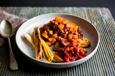 Red Rice or Farro With Miso-Roasted Squash, Leeks, Red Pepper and Tofu - NYTimes.com