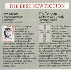Review for Five Selves :Best New Fiction