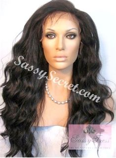APRIL* Yaki Synthetic lace front wig