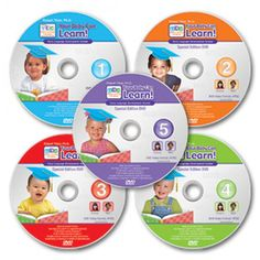 5 Your Baby Can Learn! DVDs