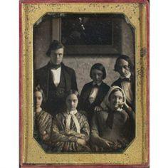 Family Group, 1840, Daguerreotype.