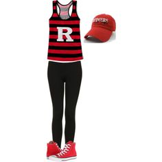 """RU RAH RAH"" Rutgers Game Day Outfit! by bncollege on Polyvore"