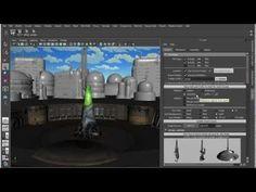 Creating a scene Maya