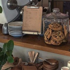 Autumn Aesthetic, Brown Aesthetic, Aesthetic Food, Cafe Food, We Fall In Love, Decoration, Waffle, Coffee Shop, Cozy Coffee
