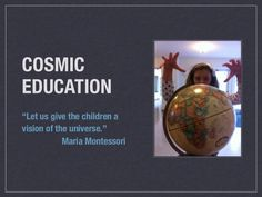 Cosmic Education at The Cobb School, Montessori