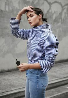blogmixes: Blue Stripes harperandharley.com