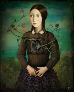 'Flourish' by Christian  Schloe on artflakes.com as poster or art print $20.79