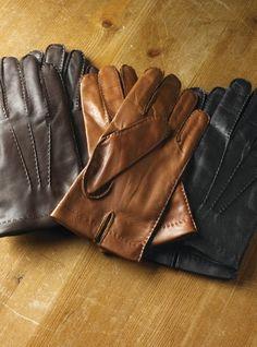 Cashmere Lined Nappa Leather Gloves For Men Leather Driving Gloves, Leather Gloves, Leather Men, Black Leather, Hand Gloves, Men's Gloves, Beard Suit, Elegant Man, Leather Pattern
