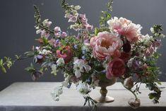 Shape inspiration, using some linear flowers like the foxglove