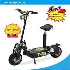 OSB50 Free Shipping High Qality Foldable Electric Scooter, E scooter with 11″ Two Wheels 48V 1500W, Adult Electrical Scooter