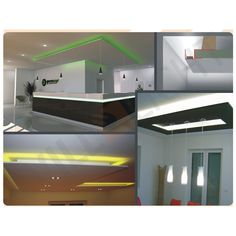 Elegant Die innovativste L sung f r die Installation von LED Sticks oder LED B ndern Ab UnterkonstruktionDeckenBeleuchtungOhneAbsReisig