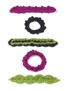 Caron International Yarns | Free Project | Party Bracelets