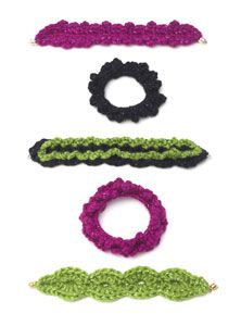 Free Crochet Bracelet Patterns.
