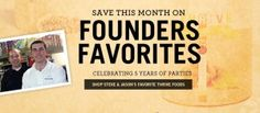 We're celebrating 5 years of parties with an extra big August specials sale! 20–45% off on founders' favorite items Our August items are founders' favorites, so you can grab great THRIVE items from Budge's faves and Palmer's picks