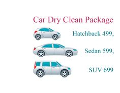 Dry cleaning package