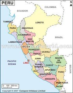 Lima, Cuzco, Macchu Picchu, Arequipa <-- in that order! Peru Travel, Asia Travel, Ecuador, Bolivia, Peru Map, Galapagos Islands, South America Travel, Machu Picchu, Central America