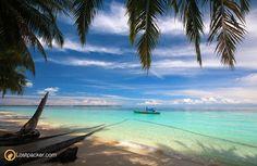 Beach at Panjang Island, Aceh Singkil, Aceh, Indonesia.