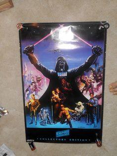 Star Wars V Collectors Edition Poster