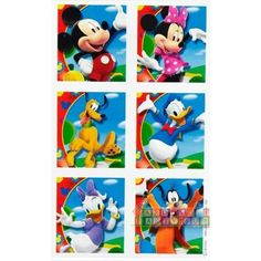 Mickey Mouse 'Fun and Friends' Stickers (4 sheets)