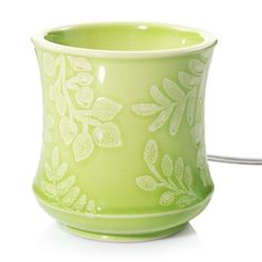 Yankee Candle Scenterpiece Olive Tendril Timer Wax Melt Warmer, Multicolor