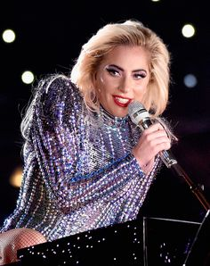 lady gaga at superbowl 51