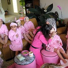 Kids Spa Party Ideas - Fashion Central