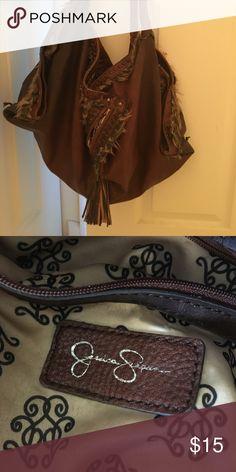 Jessica Simpson boho purse Great for winter or Coachella! Extra roomy purse. Jessica Simpson Bags Hobos