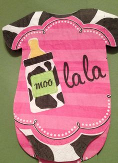 FREE SHIPPING on these napkins and some others in this shop!  So cute for baby showers!!