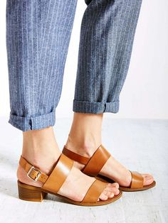13 Heeled Sandals That Won't Hurt Your Feet via @WhoWhatWear