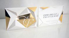 Wedding Invitation by RedBliss Design