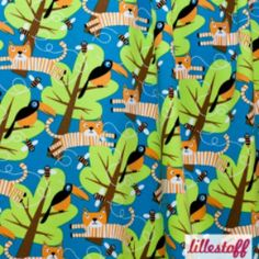Emrose Designs, LLC - Lillestoff Rumble in the Jungle Cotton Knit, $10.00 (http://www.emrosedesigns.com/lillestoff-rumble-in-the-jungle-cotton-knit/)