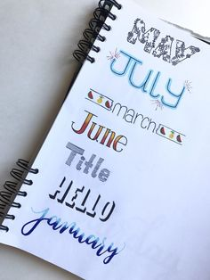 Bullet journal headers [L]
