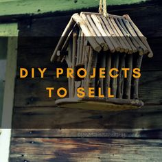 You can find many DIY Projects to Sell from here. You can sell what you make at home.
