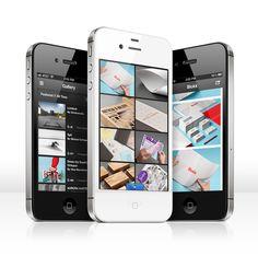 Behance iphone app #app #iPhone