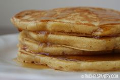 Fluffy Whole Wheat Pancake Recipe