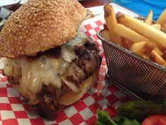 """Prime"" Steak Burger"