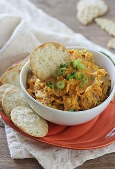 Savory Pumpkin Dip with Bacon | cookiemonstercooking.com