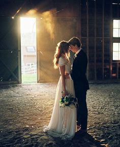 modest wedding dress with cap sleeve and a draped chiffon skirt from alta moda. --(modest bridal gown)-- ---- That is a BEAUTIFUL dress! Wedding Goals, Wedding Pics, Wedding Couples, Wedding Ideas, Wedding Details, Rustic Wedding, Perfect Wedding, Dream Wedding, Magical Wedding