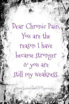 Life with chronic pain, chronic fatigue, anxiety, degenerative disk disease