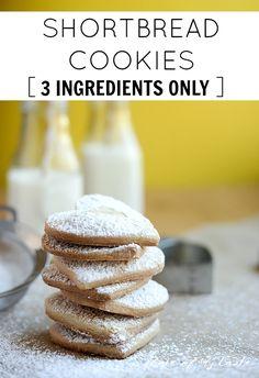 3 ingredient shortbr