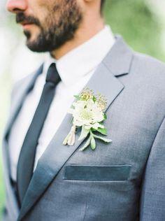 30 Details for an Organic & Naturally Elegant Wedding - Style Me Pretty Wedding Groom, Our Wedding, Dream Wedding, Wedding Bouquet, Wedding Flowers, Wedding Boutonniere, Wedding Wishes, Wedding Attire, Groom Attire
