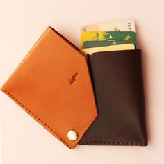New design leather wallet Ludena.